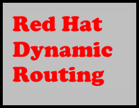 Red Hat Dynamic Routing